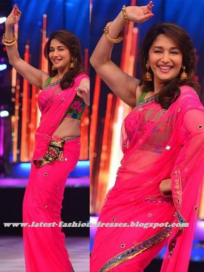 latest pink colour saree in bollywood actress