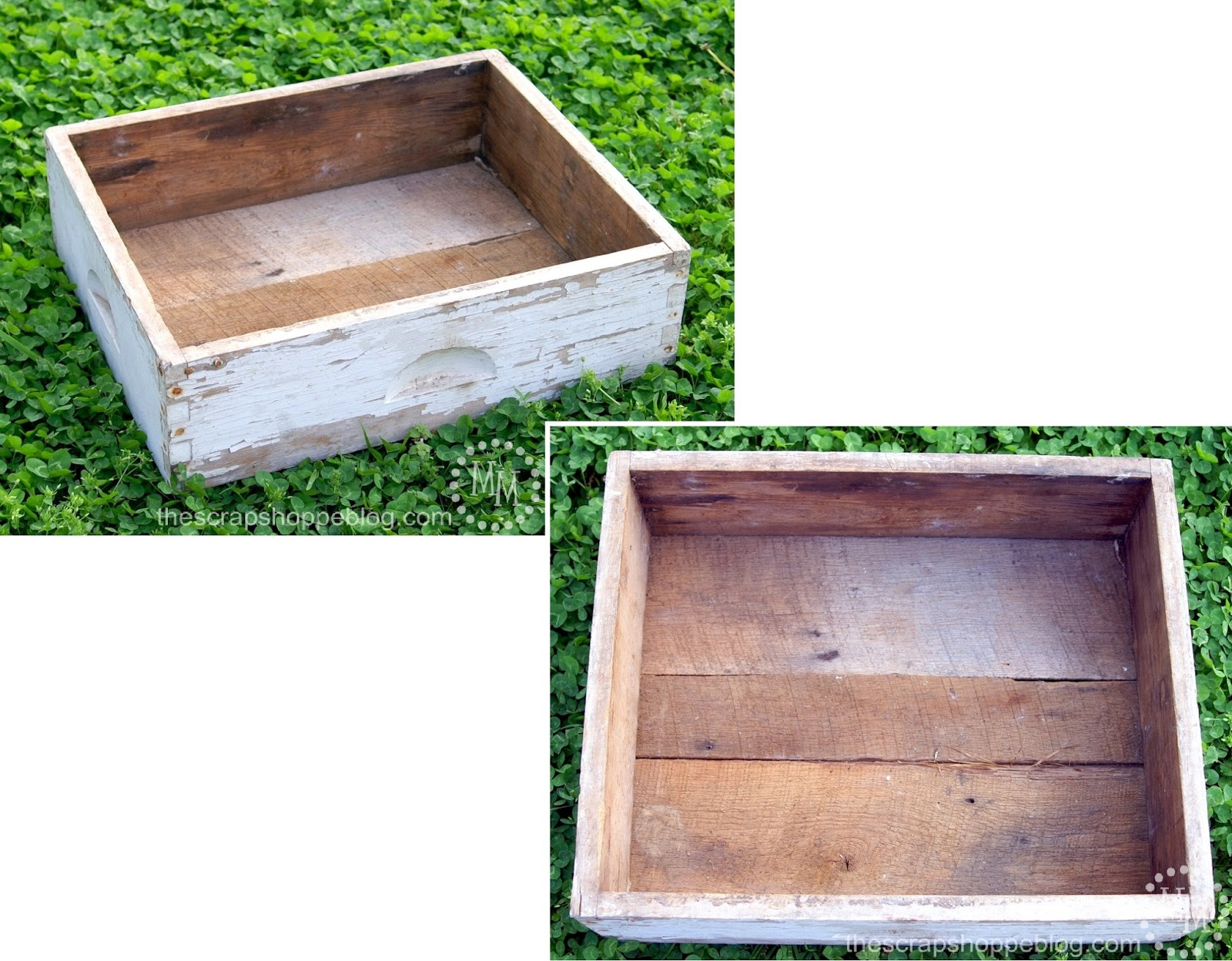 Old Drawer Flower Box
