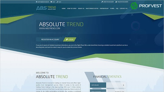 Absolute Trend: обзор и отзывы о abstrend.net (HYIP платит)