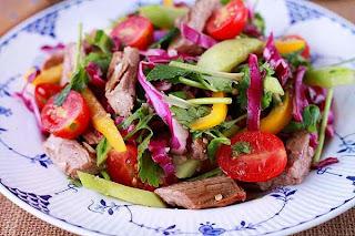 Món ăn ngon: Nộm thịt bò kiểu Thái