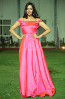Actress Pujita Ponnada in beautiful red dress at Darshakudu music launch ~ Celebrities Galleries 026.JPG