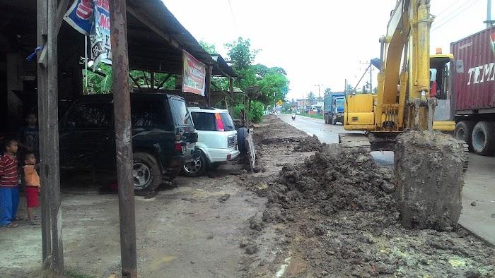 Timbunan Pipa PGN Tak Sesuai Janji, Masyarakat Purnama Kecewa