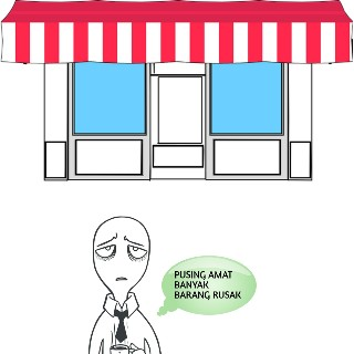 penyebab barang rusak di minimarket