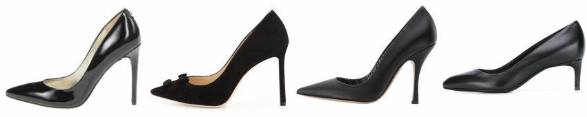 Three of these pairs of classic black pumps are from designers for $975+ and one is from Ivanka Trump on sale for $60. Can you guess which one is the more affordable pair? Click the links below to see if you are correct.