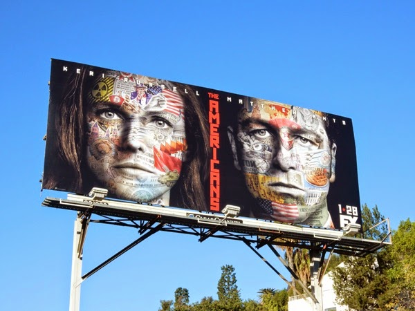 The Americans season 3 billboard