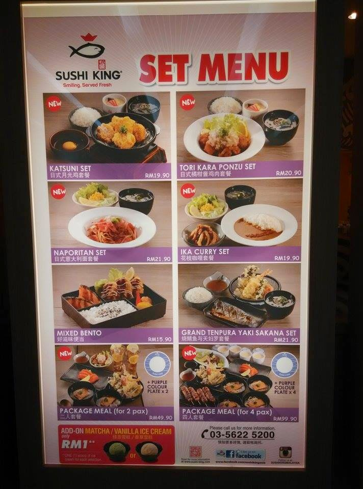 Welcome Sushi King