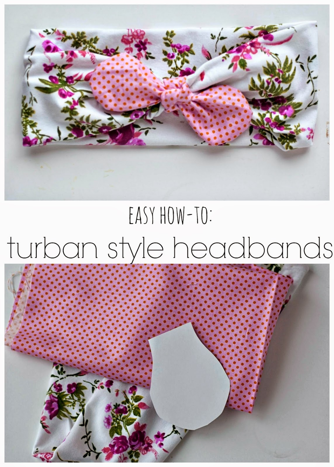 Carissa Miss: DIY Turban Style Headbands