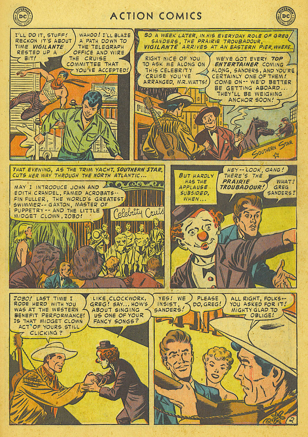 Read online Action Comics (1938) comic -  Issue #175 - 35
