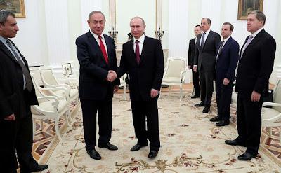 Vladimir Putin, Benjamin Netanyahu.