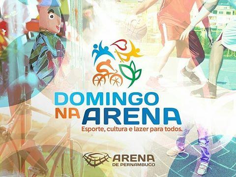 Arena Pernambuco com o domingo na arena