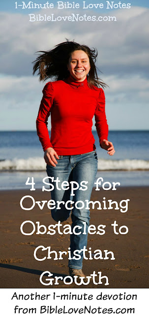 Obstacles to Christian Growth, Christian Growth, overcoming obstacles to Christian growth