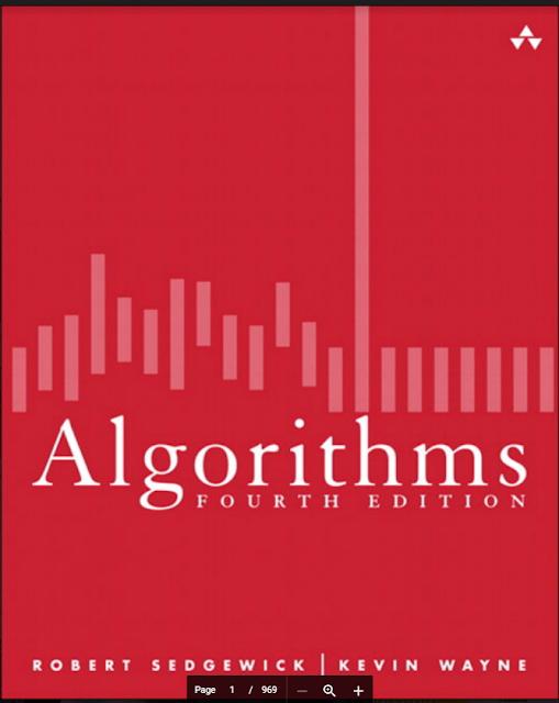 Algorithms Fourth Edition