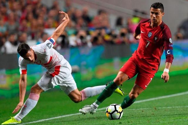 Portugal Lolos Piala Dunia 2018 Usai Benamkan Swiss