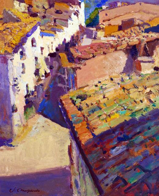 Josep Moscardó, Pintor español, Paisajistas españoles, Paisajes de Josep Moscardó, Pintores españoles