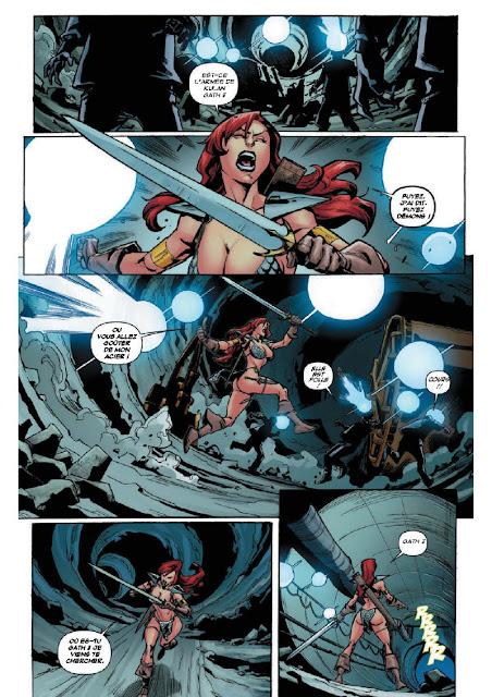 Red Sonja L'autre monde aux éditions Graph Zeppelin page 10