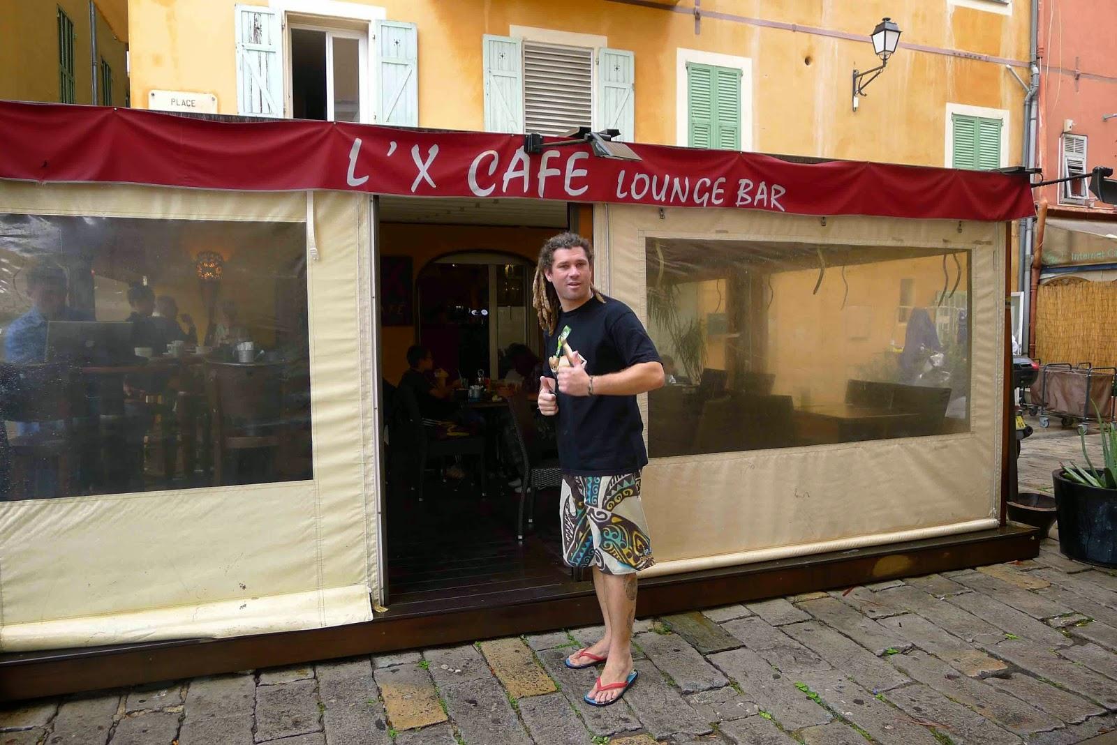 Cafe in Villefranche sur Mer