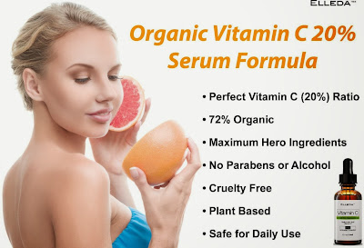 Elleda Organic Vitamin C 20% Serum