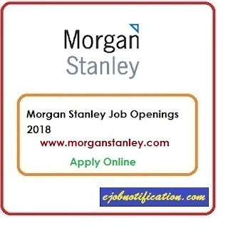 Morgan Stanley Hiring WPF Developer Jobs in Bangalore Apply Online