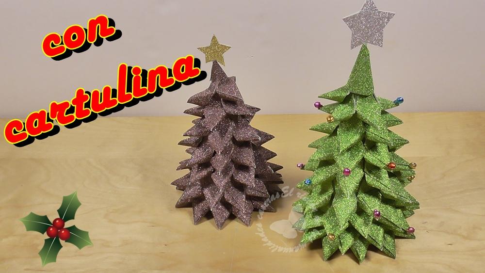 El rinc n de las manualidades caseras c mo hacer un - Adornos de navidad con cartulina ...