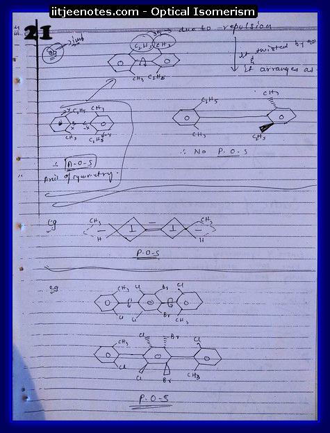 Optical Isomerism Notes 4