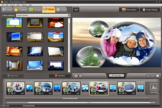 تحميل برنامج عمل فيديو من الصور مع اغنيه مجانا