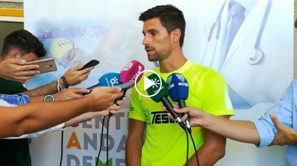 """Adrián - Málaga -: """"Necesitamos crear un grupo y una idea de juego"""""""