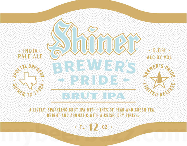 Shiner Brut IPA Coming To Brewer's Pride Series