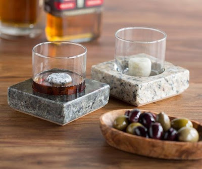 Granite Coaster Set