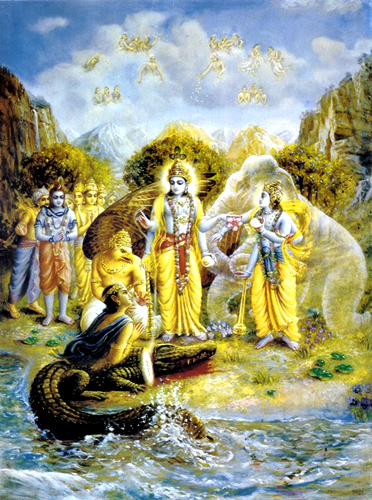 Image result for gajendra moksha
