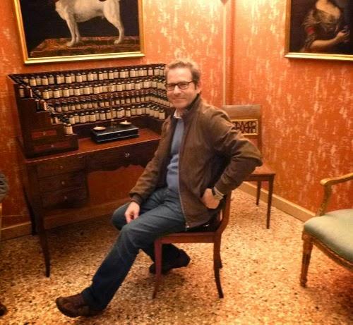 Roberto Dario, al Museo del Profumo di Venezia