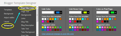 Link Color Title Colors Kaise change Kare Download template Me