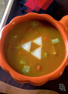 Fiction food caf pumm 39 s pumpkin soup the legend of for Cuisine zelda