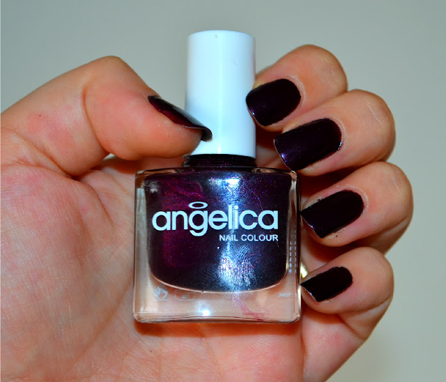 angelica - plum - cherimoya - nail colour - nail varnish - review - swatch