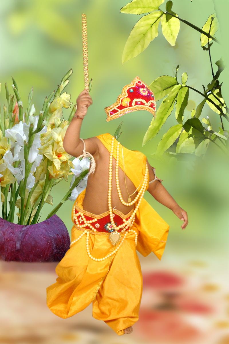 Photoshop 4 You Little Krishna Studio Backgrounds Psd