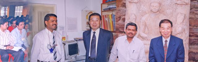 Mr. Himasnhu Mody- Master of SuJok With Prof.Park Jae Woo