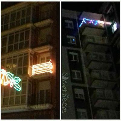 el concurso de iluminación navideña