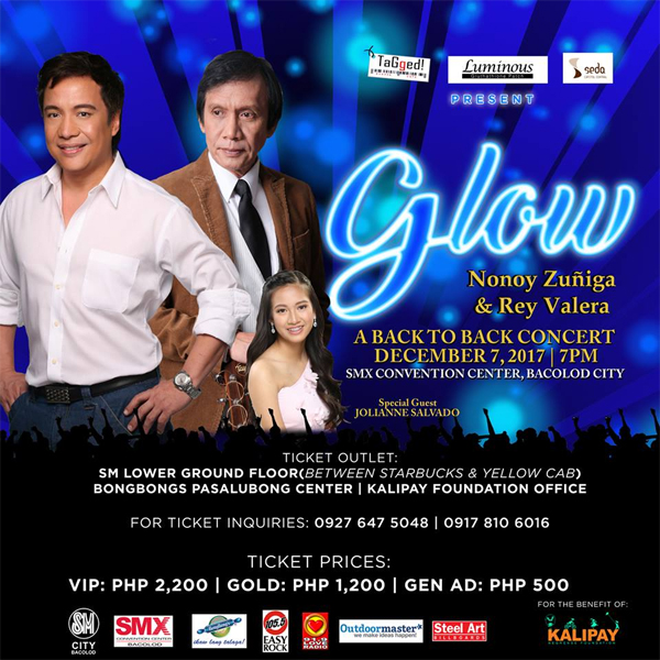 Nonoy Zuñiga and Rey Valera in Bacolod