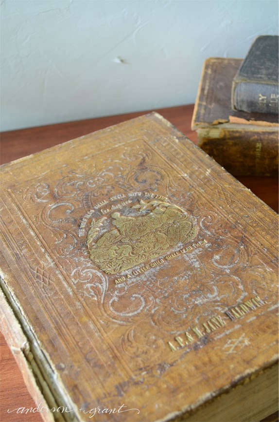 Vintage Family Bible from 1857 | www.andersonandgrant.com