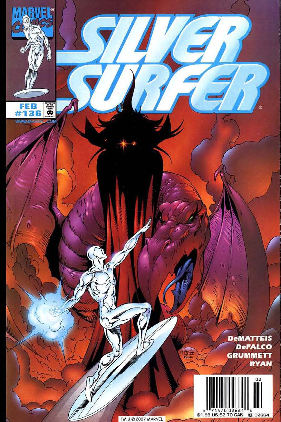 Read online Silver Surfer (1987) comic -  Issue #136 - 1