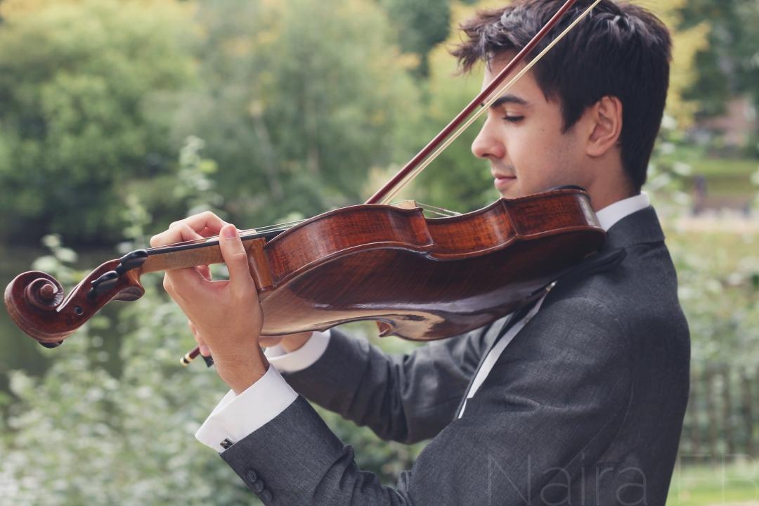 Jordan Sian, violin
