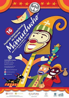 POSTER Festival Internacional de títeres Manuelucho No. 16 2018