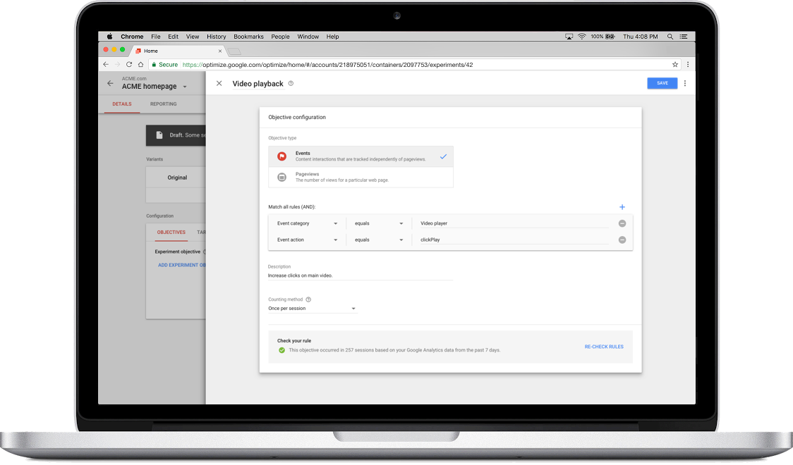 VioPro Marketing Vancouver custom-objectives Google Optimize now offers more precision and control for marketers
