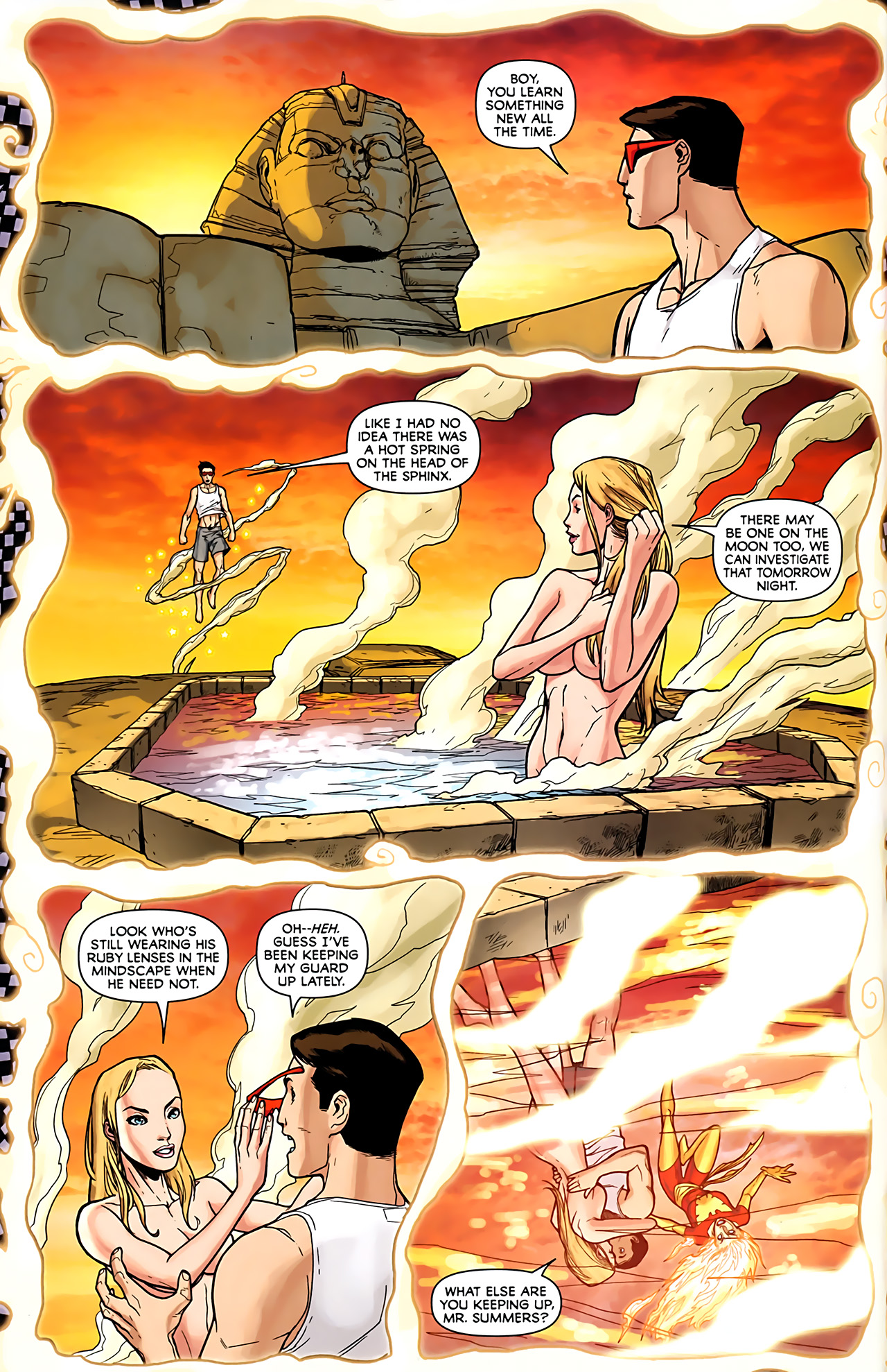 Read online Exiles (2009) comic -  Issue #6 - 8