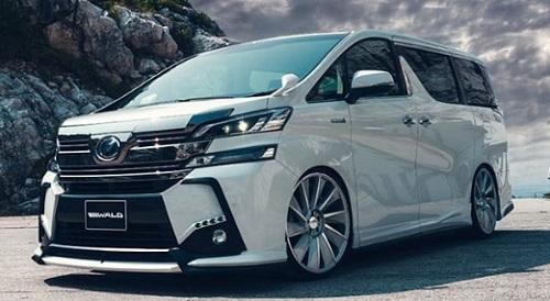 Toyota Vellfire MPV untuk pengantin