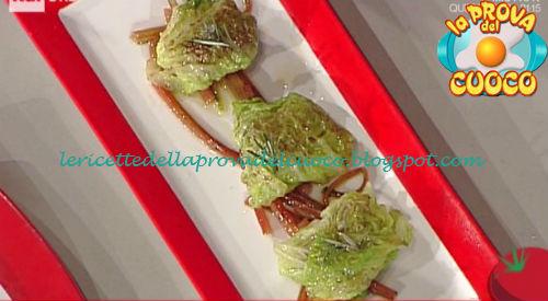 Involtini di verza ricetta Gandola da Prova del Cuoco
