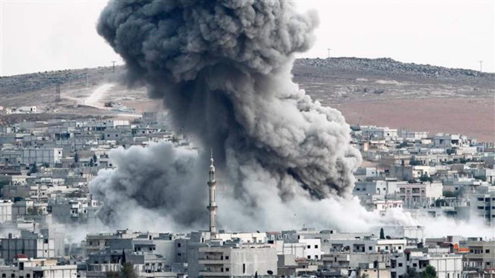 Koalisi AS di Suriah mengumumkan bahwa mereka telah menyerang masjid, karena ada militan di dalamnya