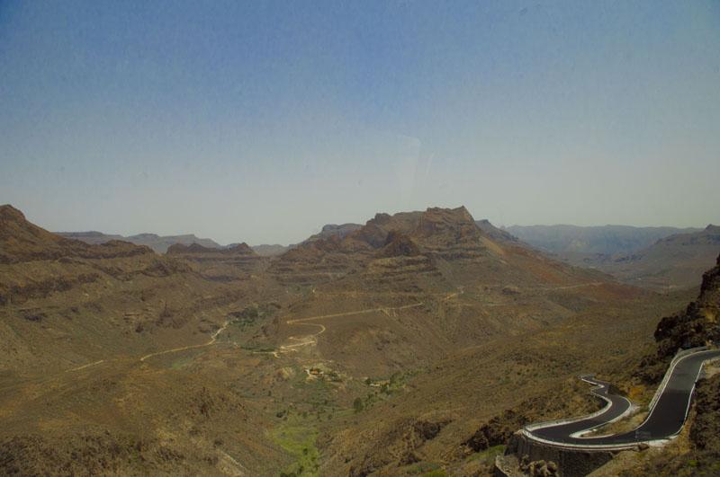 góry Gran Canaria, widok, turystyka