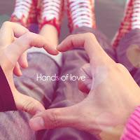 خلفيات احبك قلب باليد