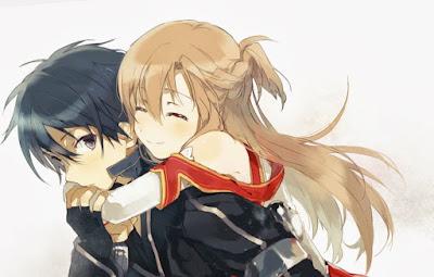 sword art online anime romance terbaik