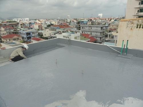 Chống thấm mái sàn sân thượng